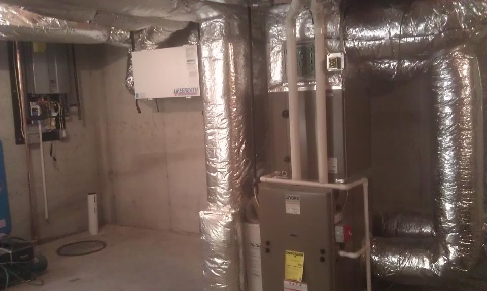 Furnace heating system repacement or installation in ME